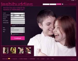Sites de rencontre: Lesbibuddies.com