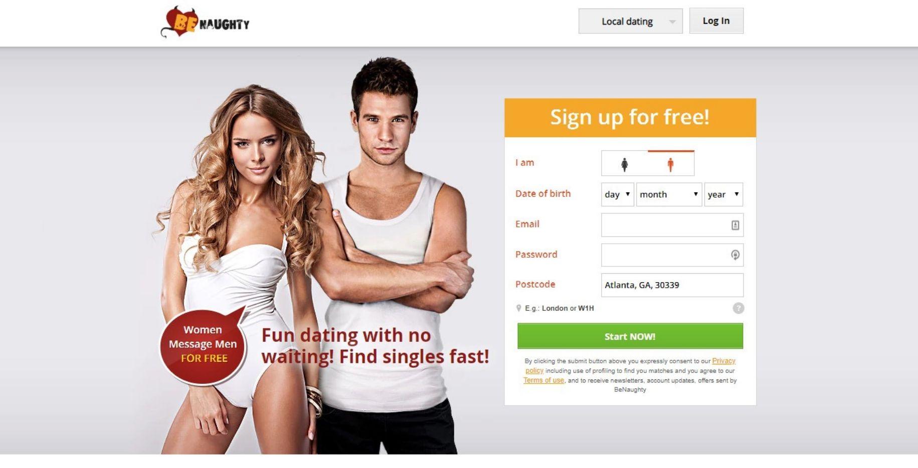 BeNaughthy.nl datingsite