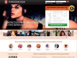 Dating sites: Fuego de vida