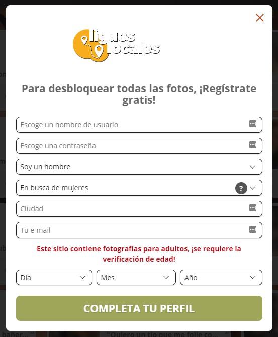 ligueslocales registro gratis
