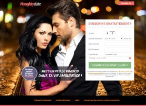 Dating sites: NaughtyDate